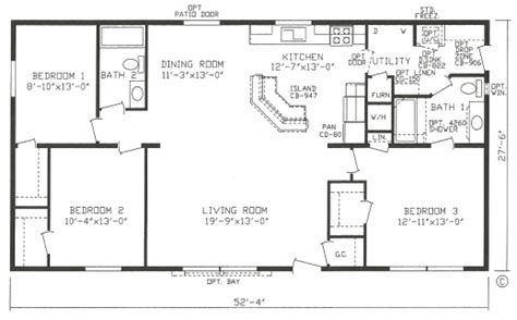 best open floor plan modular homes simple open floor plan