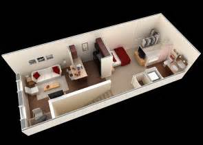 Floor Plans For Small Apartments Small Apartment Plan Interior Design Ideas