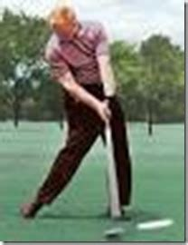 firm left side in golf swing hitting against a firm left side the secret to generating