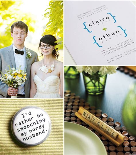geeky wedding ideas nerdy wedding inspiration onefabday