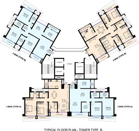 trillium floor plan sea gundecha trillium in kandivali east mumbai price