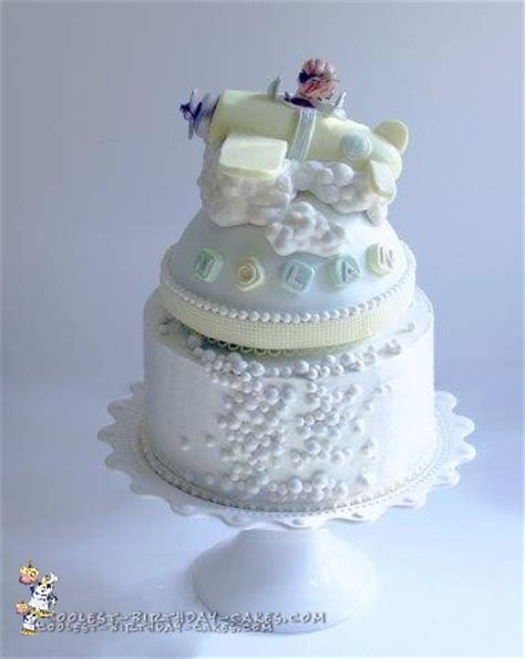 Coolest Baby Shower Cakes by Coolest Baby Shower Airplane Cake