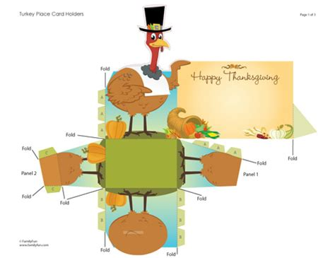 printable place cards for your thanksgiving dinner about