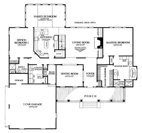traditional colonial house plans colonial farmhouse southern traditional house plan 86268