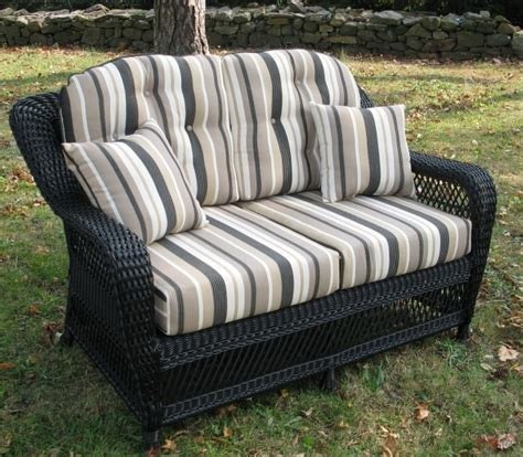 cushions for wicker settee wicker settee cushions outdoor home design ideas