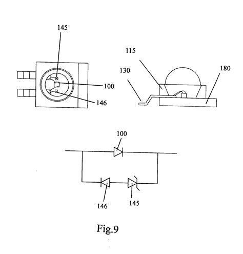 protection circuit zener diode patent us20060055012 led package with zener diode protection circuit patents
