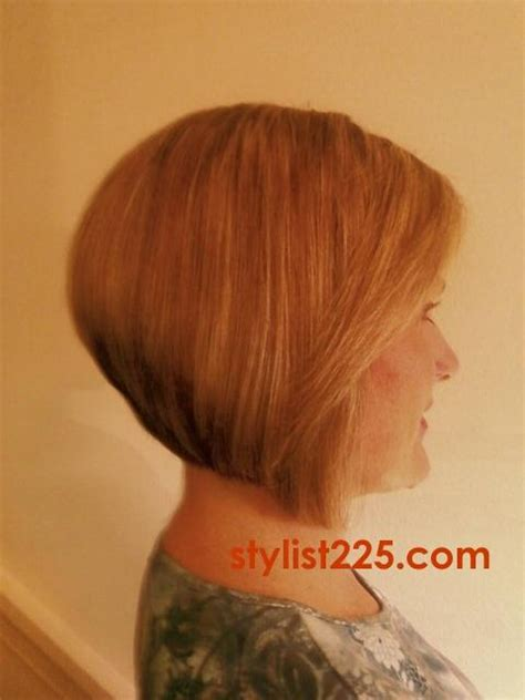 back of short inverted bob with sides behind ears category stylist225 com of baton rouge salon hair stylist