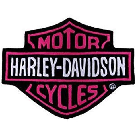 Amazon Com Harley Davidson Bar Shield Plush Rug Pink Harley Davidson Area Rugs