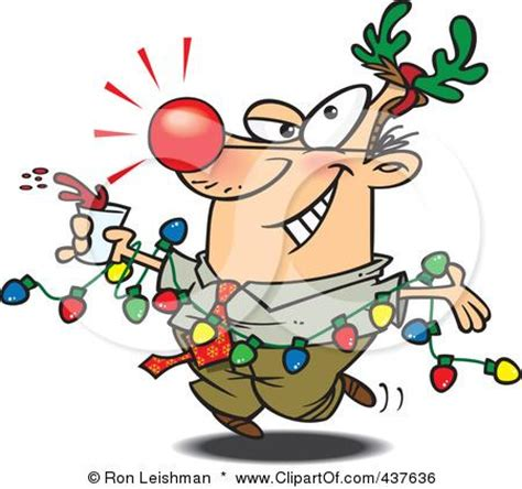 winter holiday party clipart 49