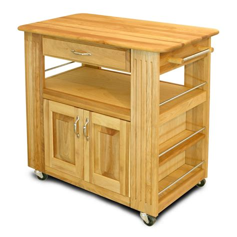 Kitchen Island With Cutting Board Top Catskill Butcher Block Heart Of The Kitchen Island