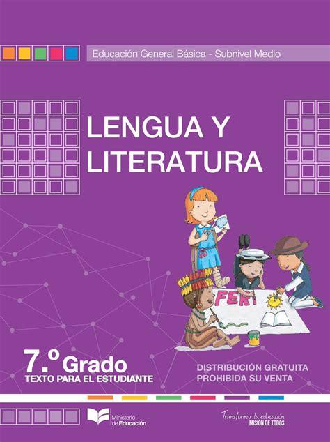 libro novedad 2011 lengua y calam 233 o lengua 7