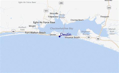 destin florida on the map destin surf forecast and surf reports florida gulf usa