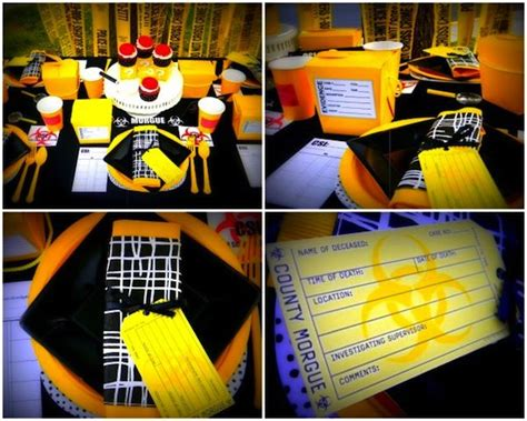 Csi Themed  Ee  Party Ee   Details Use Basic Idea Investigate