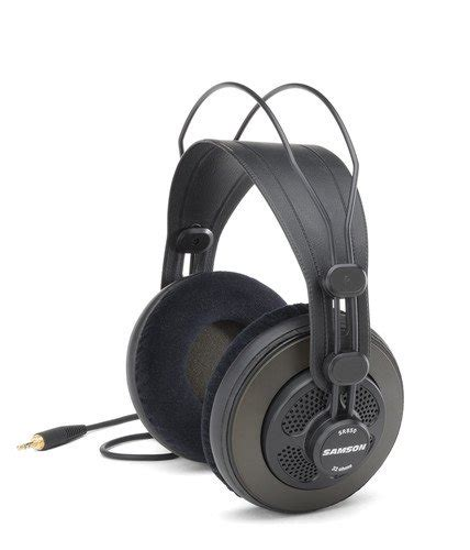 Samson Sr850 Professional Studio Headphones Eceran Diskon samson sr850 semi open back studio reference headphones import it all