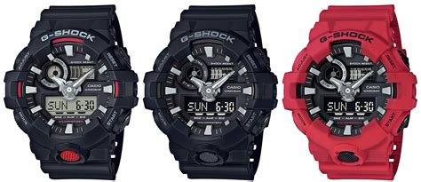 Casio G Shock Ga 700 g shock ga 700 analog digital with front light button g