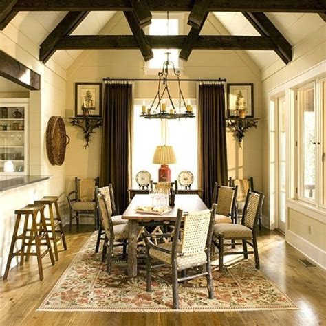 beautiful rustic dining room beautiful spaces