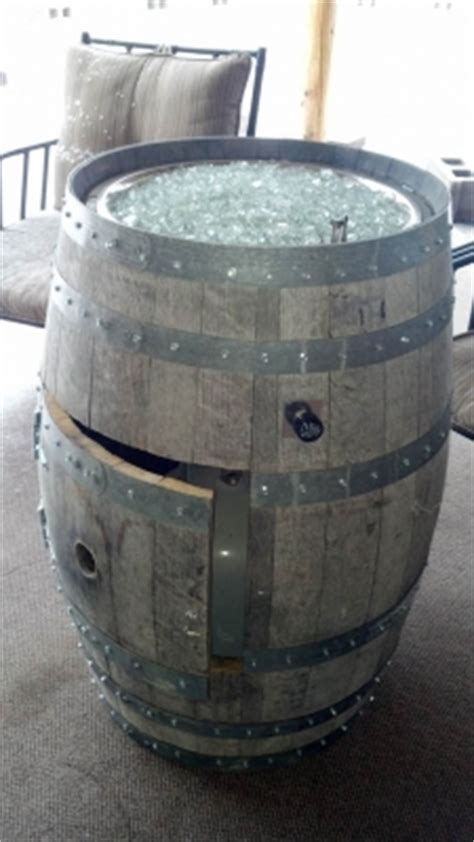 wine barrel pit convert a wine barrel into a safe outdoor firepit