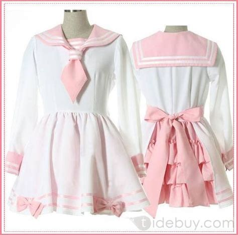 N Bab White Blue Sailor sailors dress and pink on