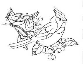 free the cardenalito coloring pages