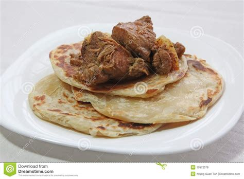 roti canai prata stock photo image  malaysia crispy