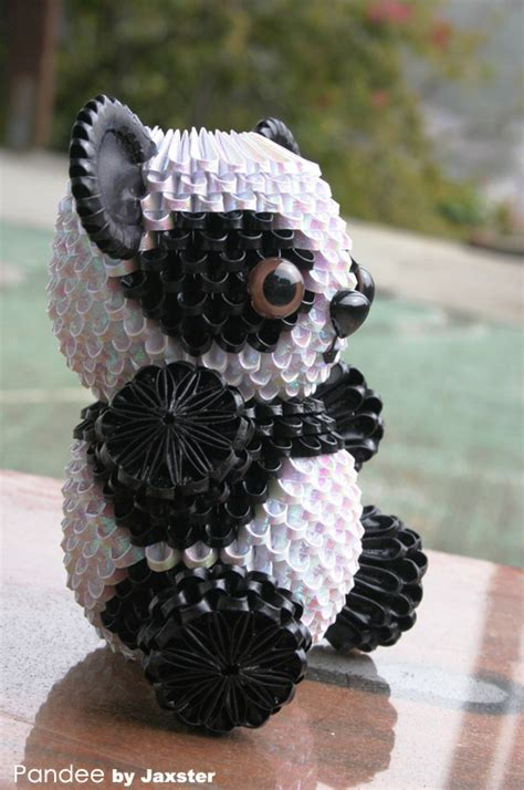 how to make a 3d origami panda 3d origami panda 3d origami