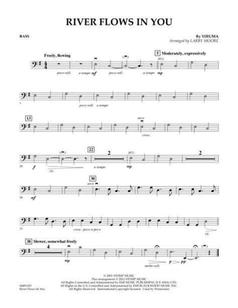 tutorial guitar river flows in you piano piano tabs river flows in you piano tabs piano