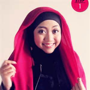 jilbab rten skarang cara memakai jilbab paris modern simple