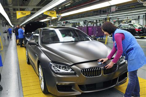 Motorrad Bmw Dingolfing by Bmw Plant Dingolfing Assembly Bmw 6 Series Gran Coupe