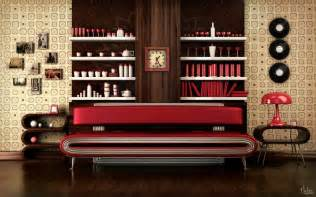 retro style furniture classic and retro style living rooms