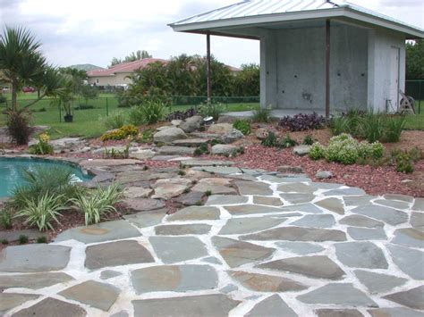 backyard stone great outdoors furnish your backyard with stone patios