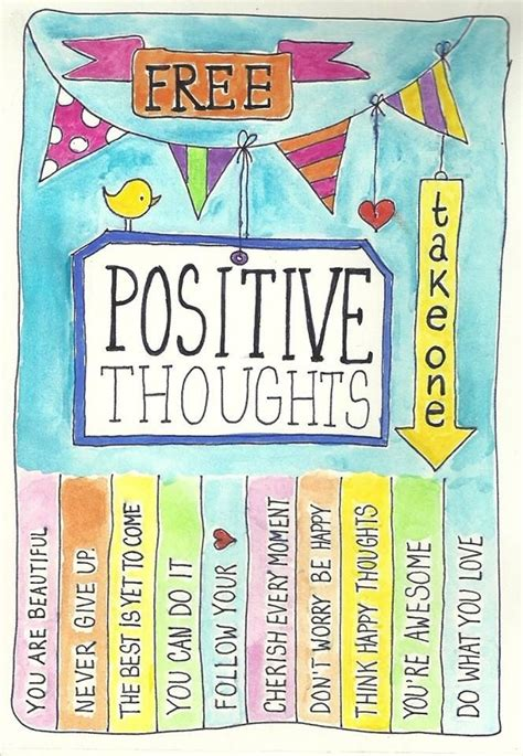 take a compliment 50 posters to pin and positive thoughts print via prana