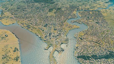 world map cities skylines gamer creates a southton