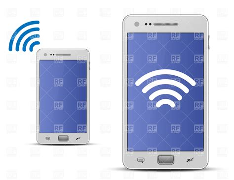 Wifi Smartphone smartphone and wireless technology royalty free vector clip image 6057 rfclipart