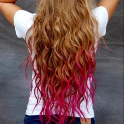 hairstyles to hide dip dyed ends dip dye a great way to hide split ends and then just cut