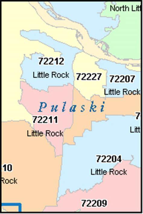 little rock arkansas, ar zip code map downloads