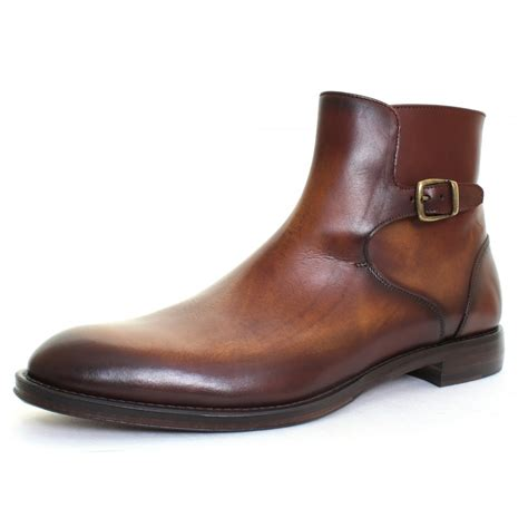 brand new oliver sweeney luxury mens brown leather boots