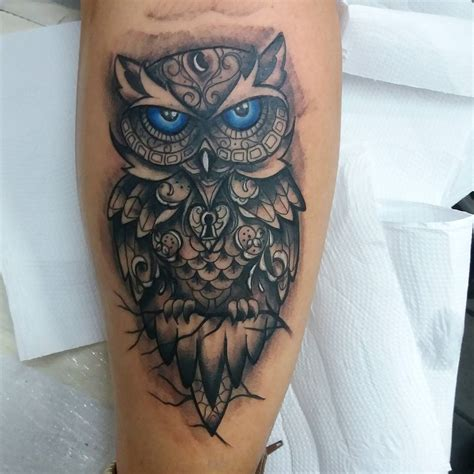 owl tattoos for men 95 best photos of owl tattoos signs of wisdom 2018