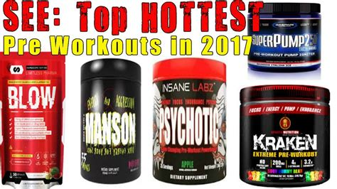 best pre workout exposed top 5 pre workout supplements 2017