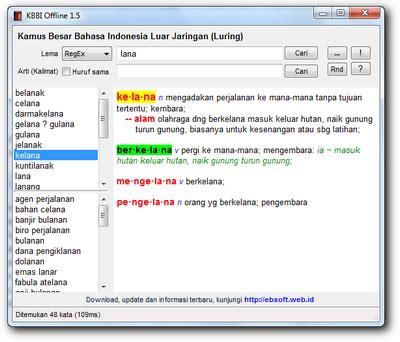 email kbbi download kamus besar bahasa indonesia kbbi 1 5 portabel