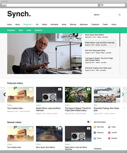 themes html5 wordpress free synch an html5 video theme for wordpress wpmu dev