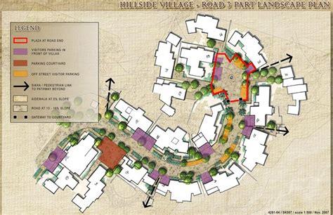 hill design concept hill side village landscape concept salam resort and spa