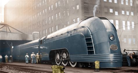 streamliner trains that oozed the elegance of old world travel