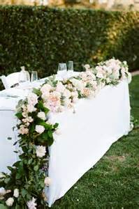 garlands for wedding 40 ways to decorate your wedding with floral garlands tulle chantilly wedding