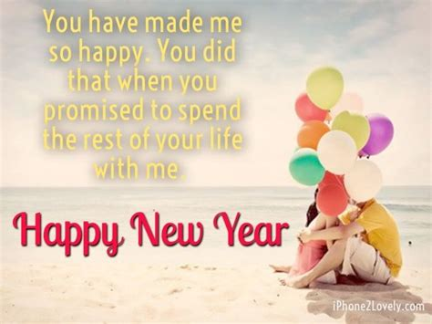 happy new year words quotes new year wishes for him
