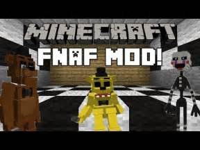 Minecraft fnaf 3d models mod golden freddy and mangle models