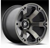 Fuel Beast D564 Matte Black Machined W/ Dark Tint Custom