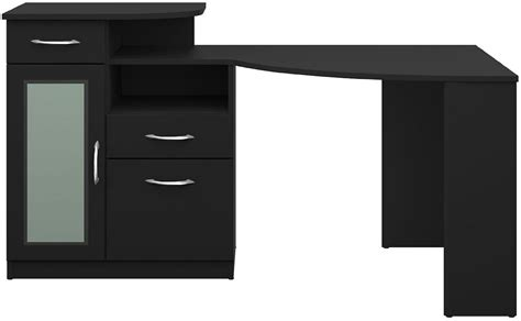 Bush Furniture Vantage Corner Desk by Bush Furniture Vantage Black Corner Desk Hm66915a 03