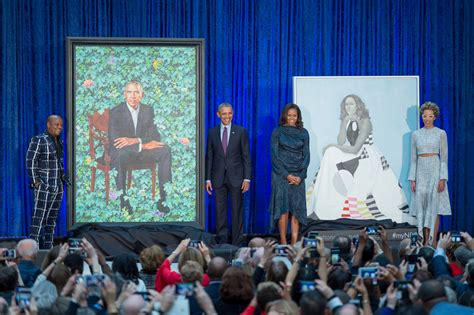 Alex K Goes Shopping Desperate Book Tour Edition by Photos Obama Portrait Unveiling At The Smithsonian