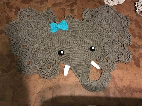 Elephant Print Rug by 1000 Ideas About Crochet Elephant On Elephant