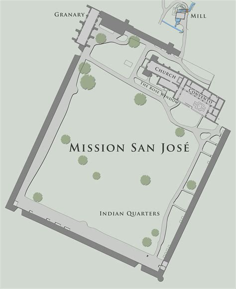 mission san jose on map 100 mission san jose floor plan historic california